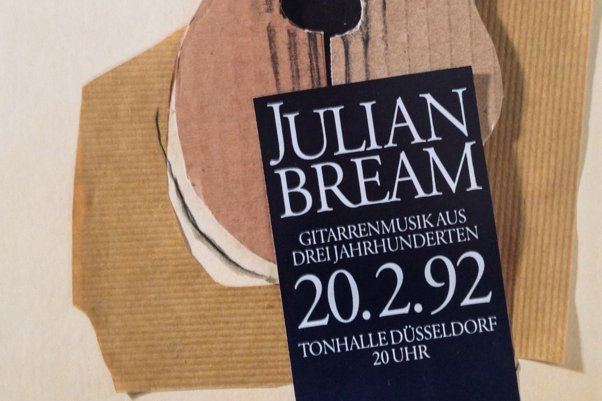 Gestaltanstalt Plakat Julian Bream