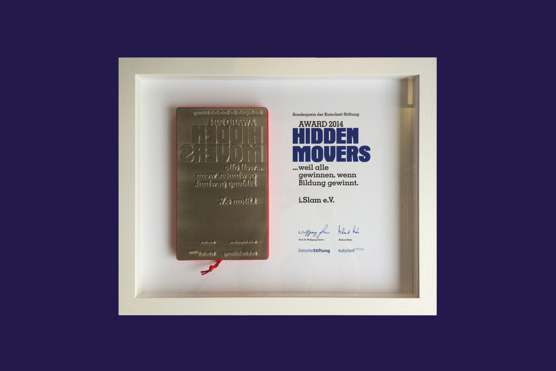 Gestaltanstalt Hidden Movers Award