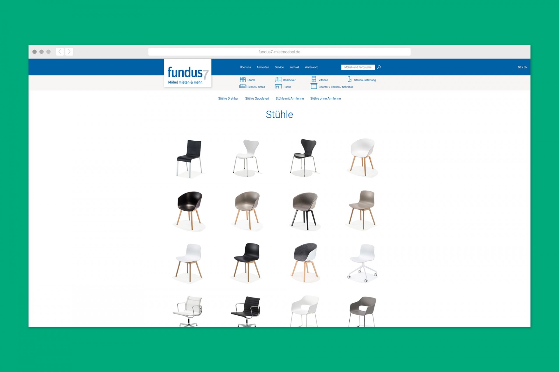 Gestaltanstalt fundus7 – Refresh Webseite