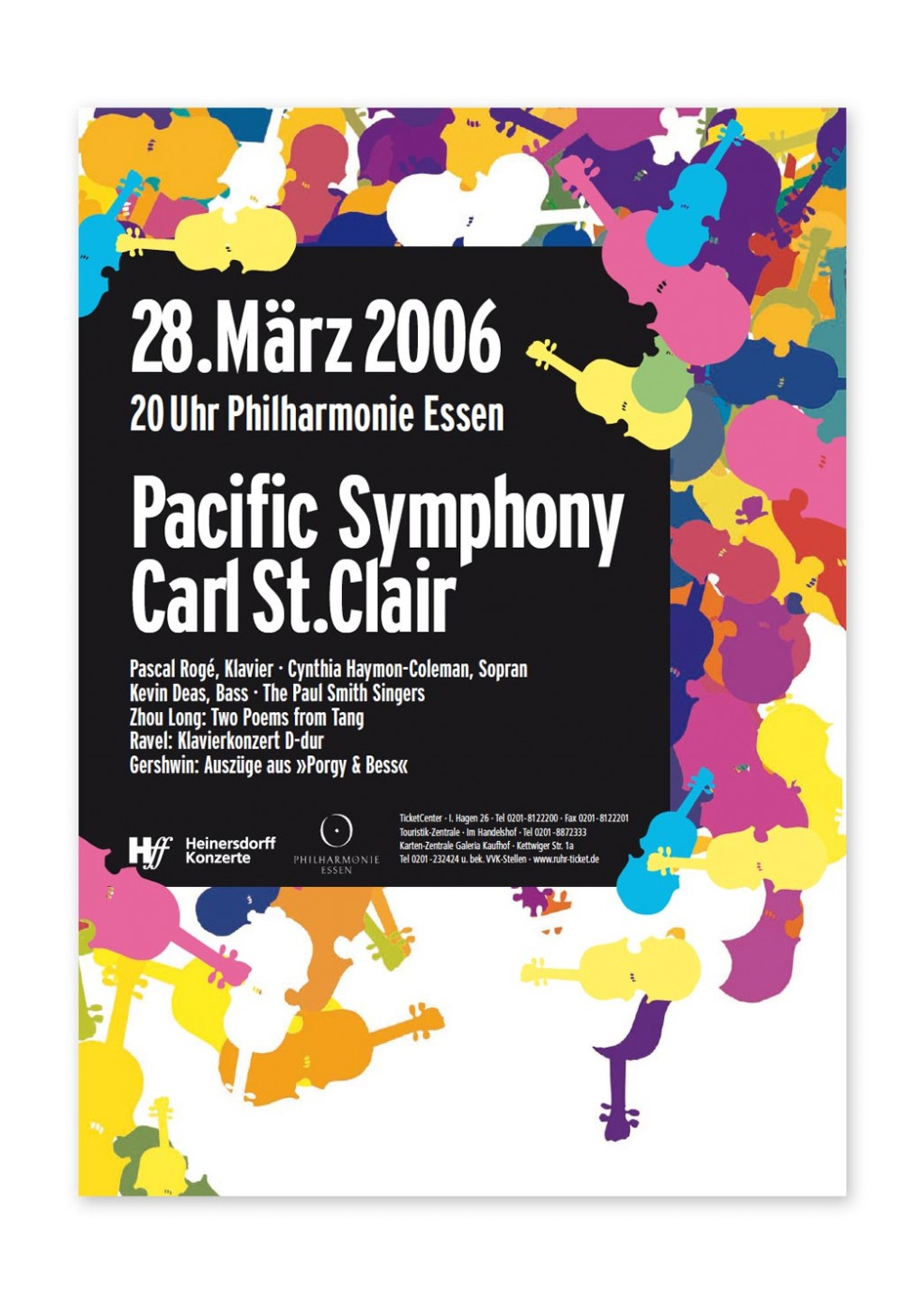Gestaltanstalt Konzertplakate