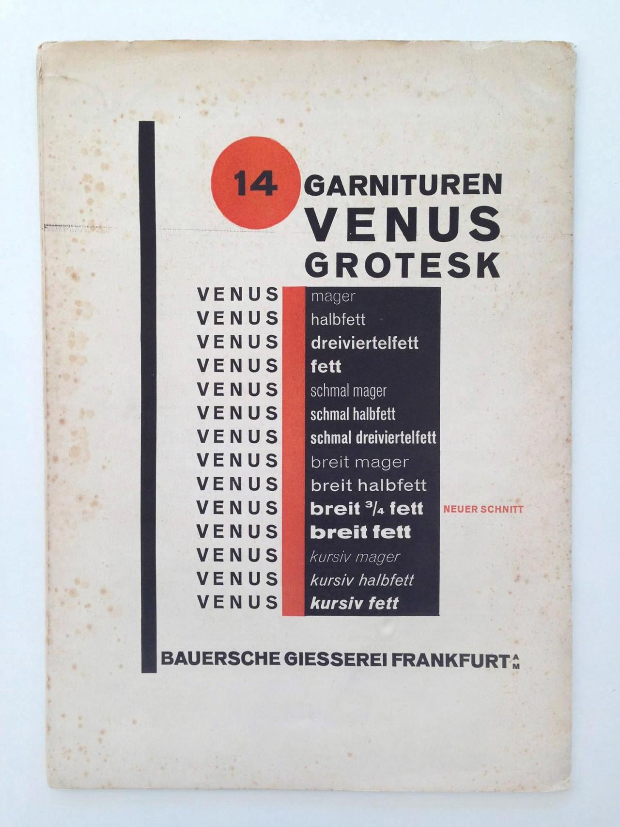 Gestaltanstalt Die fürnehmsten Schriften – 1