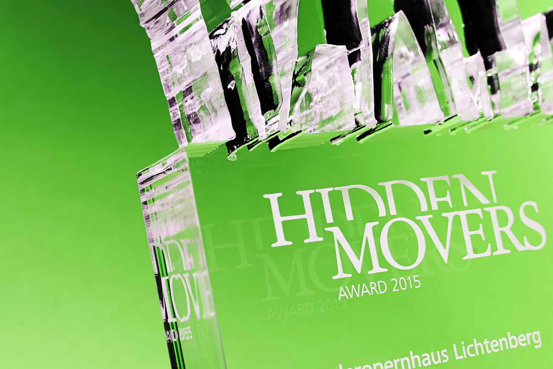 Gestaltanstalt Redesign Hidden Movers Award