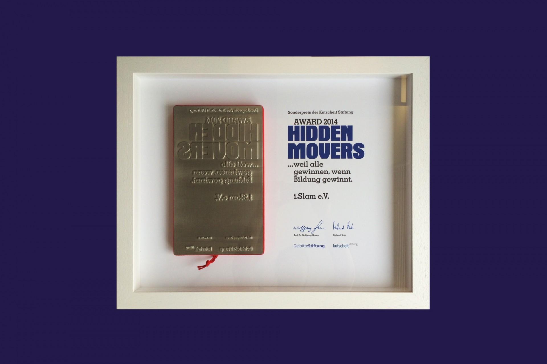 Gestaltanstalt Hidden Movers Award