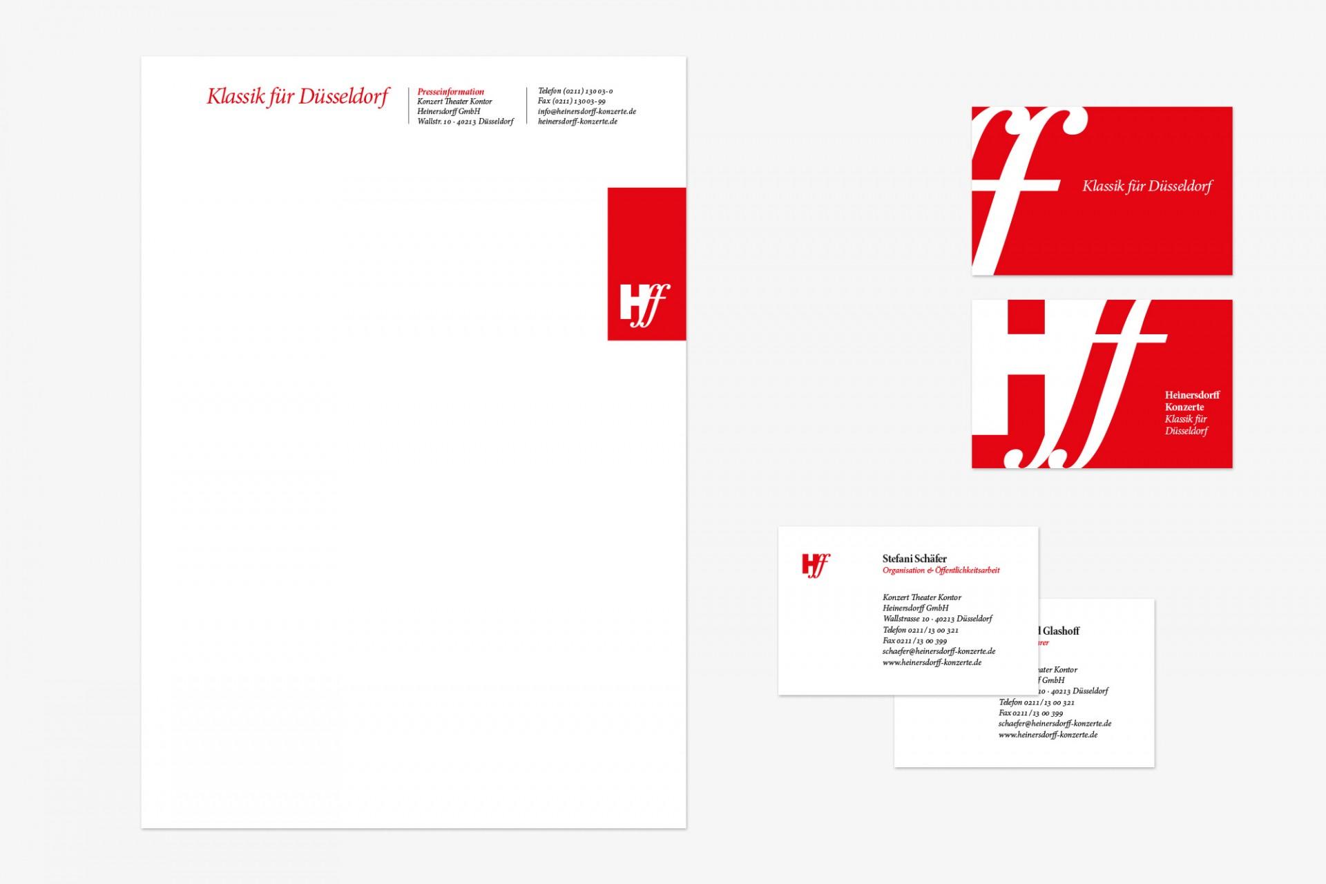 Gestaltanstalt Corporate Design Heinersdorff