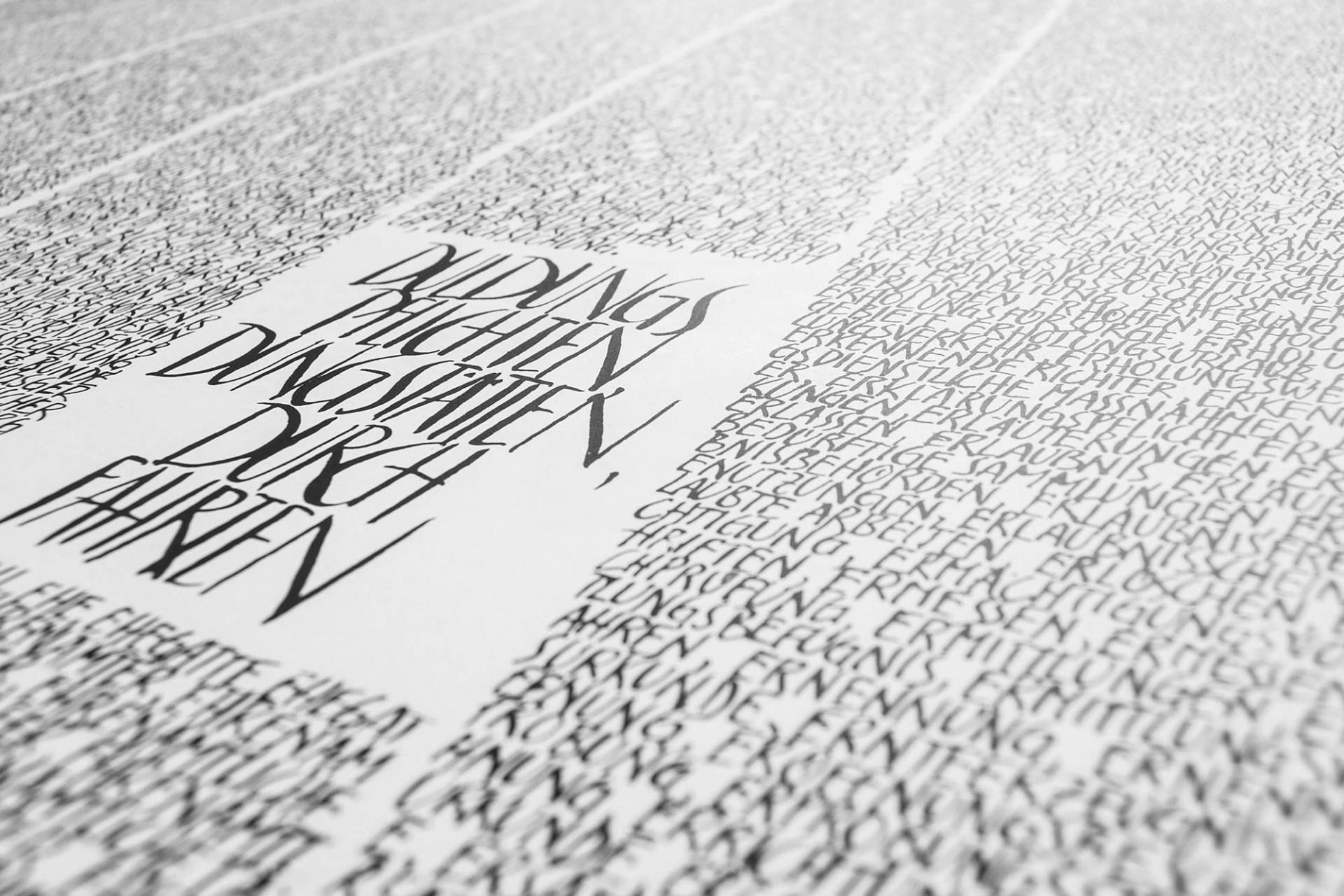 Gestaltanstalt Schriftbilder